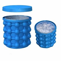 Ice Cube Maker Genie Revolutionary Space Saving Fun Party Kitchen Tools... - $15.92
