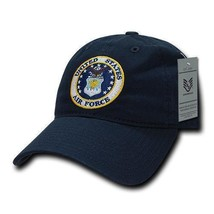 United States Air Force Usaf Officially Licensed Navy Relaxed Fit Baseball Cap - $26.95