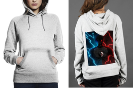 Classic Hoodie White women Zoom Or Black Flash - $28.99