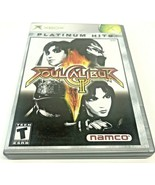Soul Calibur II 2, Microsoft Xbox Complete With Disk, Manual and Case - $11.87
