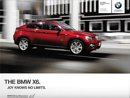 2011 BMW X6 sales brochure catalog US 11 xDrive 35i 50i ActiveHybrid - $10.00