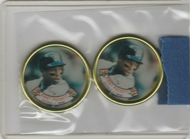 1988 Topps Coins Kirby Puckett Twins Lot of 2 - $1.28