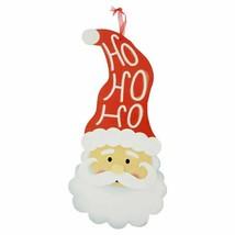 Christmas Decorative Wall Sign, 15.75x7.75 in. Santa HOHOHO w - $6.99