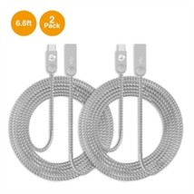 SIIG Cable CB-US0N11-S1 6.6 feet Zinc Alloy USB-C to USB-A Charging Sync... - $34.64