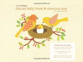 Petit Collage Deluxe Baby Book and Memory Box [Diary] Siminovich, Lorena - $50.00