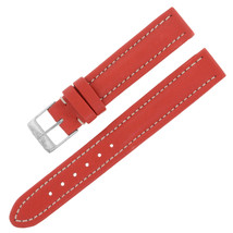 Breitling 130X 15-14mm Genuine Leather Red Ladies Watch Band w. Buckle - $249.00