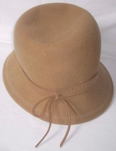 Soft 100% Wool Hat with Tie on end of Hat Band One Size - $8.55