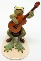 "Hagen Renaker Specialties ""Froggy Mountain Breakdown"" Frog Mandolin Play... - £20.86 GBP"