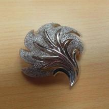 Vintage Crown Trifari Silver-tone Leaf Brooch/Pin  - $24.26