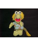 "14"" Fraggle Rock Wembley Plush Stuffed Doll Hasbro Softies 1985 Jim Henson - $56.09"