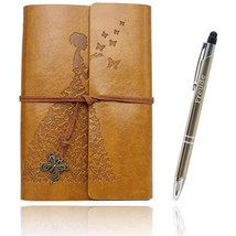 Writing Journals Notebook Value Pack Refillable Leather Women's Notebook... - $20.52