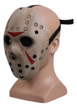 Friday the 13th Jason Voorhees Mask Jason VS Freddy Hockey Mask New - £29.76 GBP