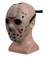 Friday the 13th Jason Voorhees Mask Jason VS Freddy Hockey Mask New - £27.19 GBP