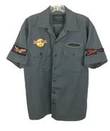 Hard Rock Cafe Niagara Falls Button Front S/S Shirt Size S (see measurem... - $31.96