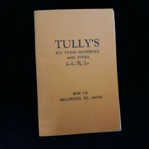 Tully's Fly Tying Materials & Tools Bellwood IL Late 50s Catalog & Price... - $32.67