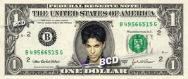 PRINCE on a REAL Dollar Bill Cash Money Collectible Memorabilia Celebrit... - $8.88