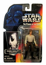 """STAR WARS The Power of the Force HAN SOLO IN CARBONITE 3.75"""" Action Figu... - $14.85"""