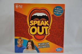 Hasbro Speak Out Funny Mouthpiece Party Game Fun Friends Family 16+ 4 to... - $3.22