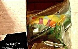 CowParade Tulip Cow Item # 9204 Westland Giftware AA-191875 Vintage Collectible image 2