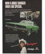 Vtg 1969 Dodge Charger magazine advertisement - $14.00