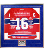 Henri Richard Career Jersey #199 of 199 - Autographed - Montreal Canadiens - $2,199.00