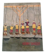 Disasters of War by Henry Darger outsider art 20th century painting - $29.99
