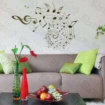 Rotation Of The Notes - Wall Decals Stickers Appliques Home Dcor - $10.87