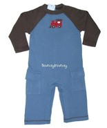 NWT Gymboree LITTLE CONDUCTOR Romper Outfit Set 6 12 M - $15.99