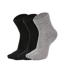 5 Pairs Women's Toe Socks Running Comfortable Healthy Socks,C - $26.23
