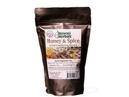 Nuwati Herbals Honey & Spice Herbal Tea, Comforting Blend, 4 ounces