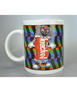 Krackel Candy Bar Pop Art  Coffee Mug Cup 1999 Hershey - $9.99