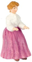 Dollhouse Miniature 1:12 Scale Elizabeth In Pink Dress #A3363PK - $13.99