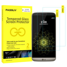 Screen Protector [2Pack PASBUY Retailbox] Tempered Glass for LG G5 - $5.83