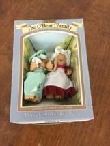 NEW THE O BEAR FAMILY PORCELAIN  TEDDY BEARs - $14.84