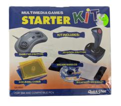 QuickShot 1996 Joystick Bundle Sealed! Game Pad Starter Kit IBM/PC (QS-5... - $69.95