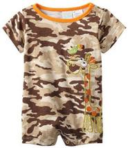 Baby Togs Baby Boys Giraffe Knit Romper - $20.00