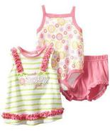 Baby Togs Baby Girls Floral 3 Piece Short Set - $24.00