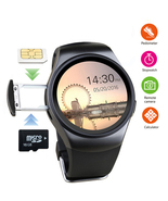 KW18 Bluetooth Heart Rate Smart Watch Wrist Waterproof Phone Mate Androi... - £56.19 GBP+