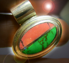 HAUNTED PENDANT SACRED HONORS ANCIENT GUIDE TO WEALTH MAGICK 925 7 SCHOLARS - $148.89