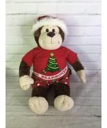 Build A Bear Monkey Plush Stuffed Animal Christmas Outfit Boxers Shirt S... - $27.71