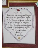 Mother Dear #320L Counted Cross Stitch [Pamphlet]  - $6.00