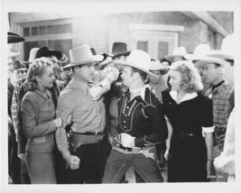 Gene Autrey Arm Wrestles 8x10 Photo 1662103 - $9.99
