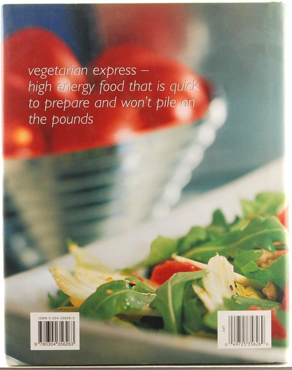Vegetarian Express Cookbook Rose Elliot Recipes HC