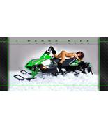 Arctic Cat, Snow Pro, ZR, XF, Thundercat, Wall  Garage Banner  - Snow Ch... - $34.64