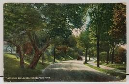Minneapolis Minnesota, Kenwood Boulevard postcard 1910 - $9.99