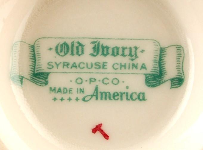 Syracuse China Demitasse Coral Pink China Cup Old Ivory OPCO SY596