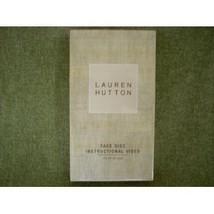 Lauren Hutton Face Disc Instructional Video [VHS Tape] (2002) Lauren Hutton - $9.99