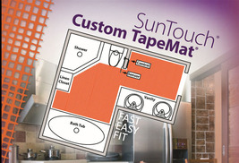 SunTouch Radiant Floor Heating Custom TapeMats 35 sq - $602.00