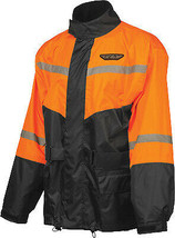 Fly Racing 2-Piece Rain Suit LRG Orange/Black - $79.95