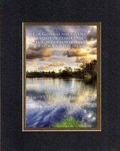 Power, Love, Sound Judgment - 2 Timothy 1:7. . . 8 x 10 Inches Biblical/Relig... - $10.95